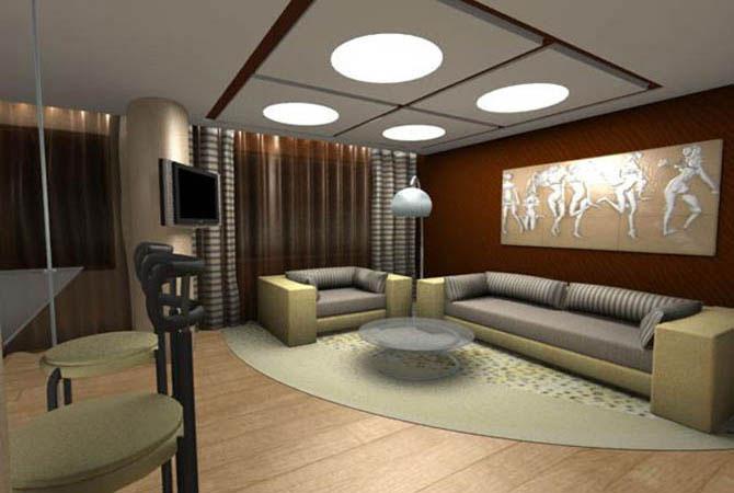 дизайн однокомнатной квартир фотогалерея интерьера
