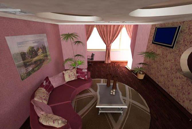 интерьеры комнат с потолками гипсокартоновыми с фото