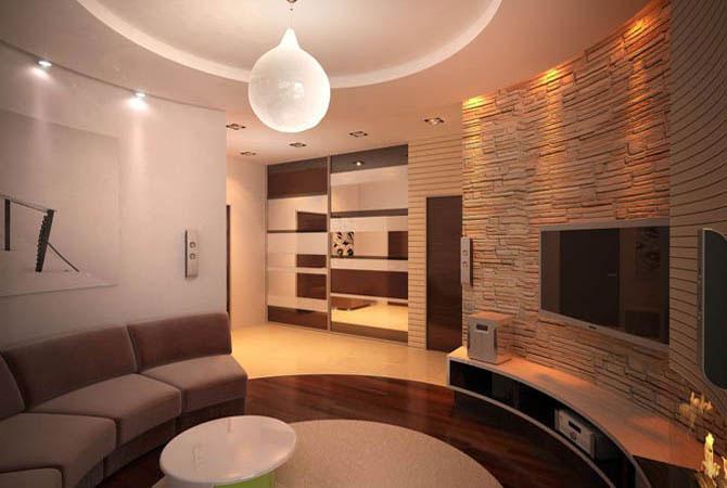 дизайн интерьера не большой комнаты фотогалерея
