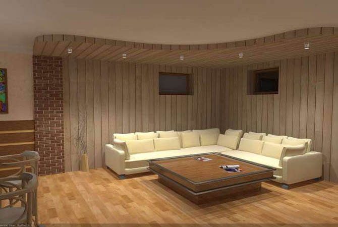 нарисованные проекты дизайна квартир