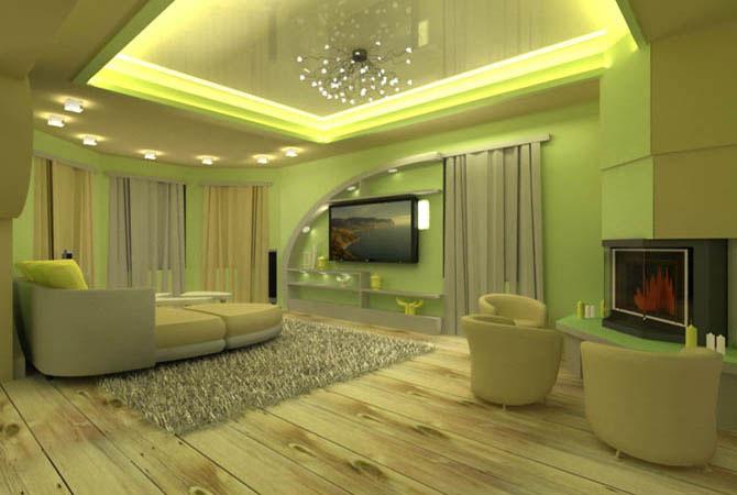 дизайн интерьера элитных загородных домов