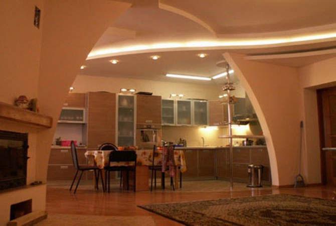 интерьер дома с электро оснощением