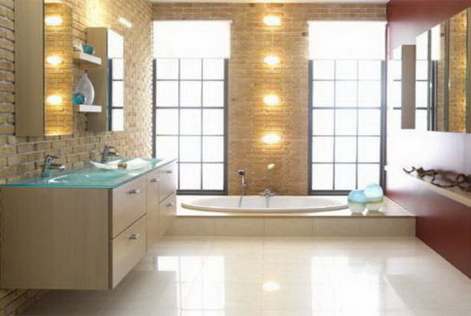 отделка ванных комнат и туалетов