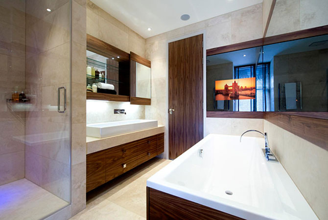 ремонт ванной комнаты частным мастером