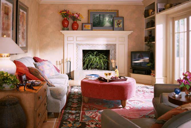 дизайн комнаты с перегородкой