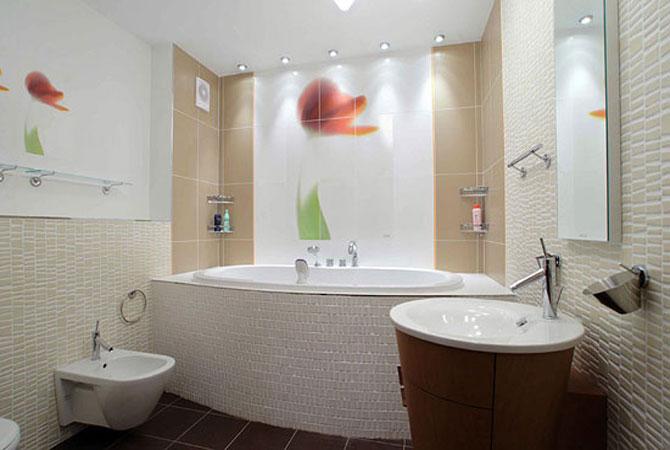 образцы дизайна ванной комнаты