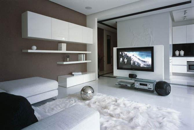 дизайны квартир стиль модерн
