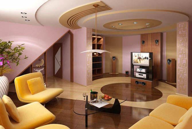 интерьер комнат в стиле модерн