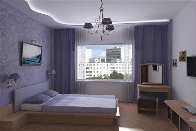 как сделать ремонт спальной комнаты