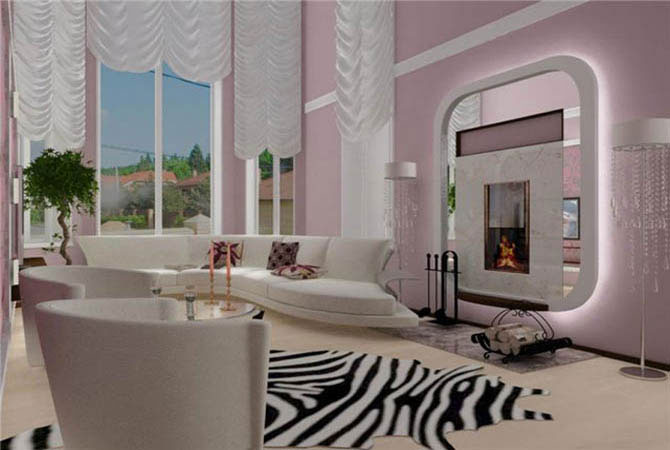 дизайн комнаты в стиле ак47