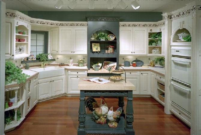 интерьер кухни в доме серии копе