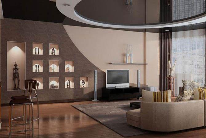 интерьер квартиры в стиле хай-тэк
