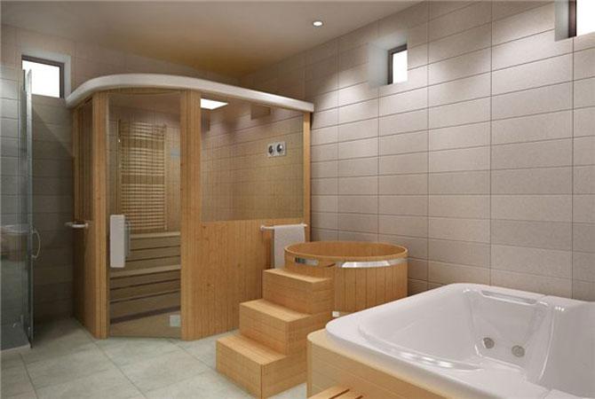 интерьер ванной комнаты эконом