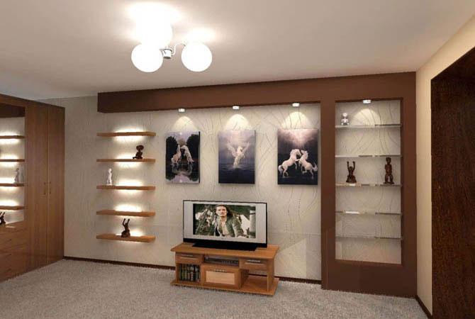 дизайн проекты в рисунках квартир типа п3м