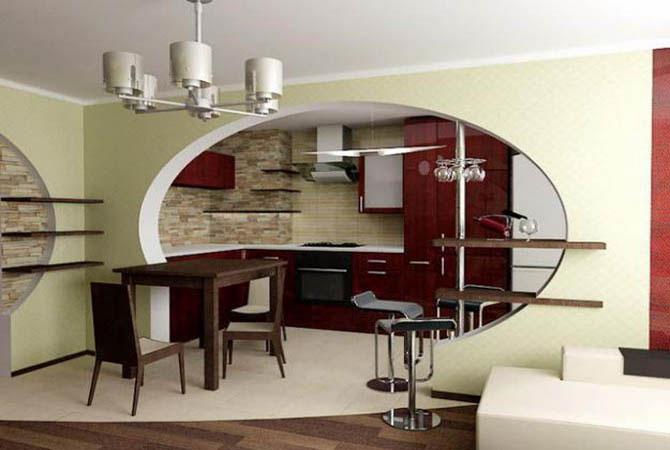Однокомнатной квартиры по французски