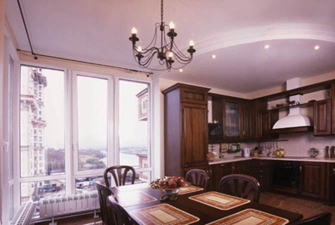 интерьер кухни коридора квартиры фото