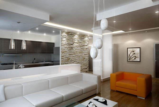 интерьер 1 комнатной квартиры с фото