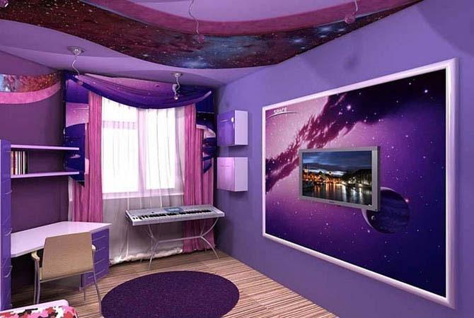 интерьеры комнат оклеенных обоями