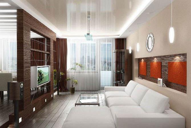 дизайн квартиры сочетание цвета