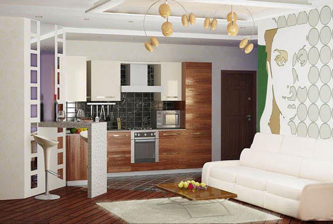интерьер в деревяных домах