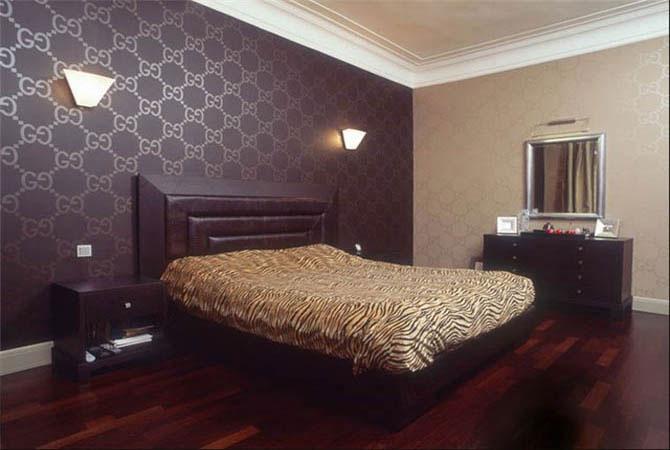 дизайн спальной и гостинной комнаты