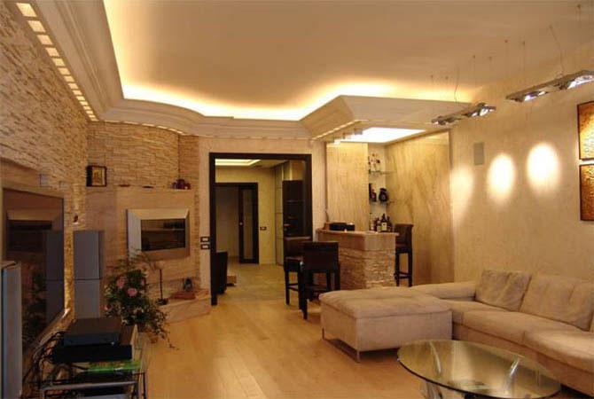 дизайн четырехкомнатной квартиры идеи