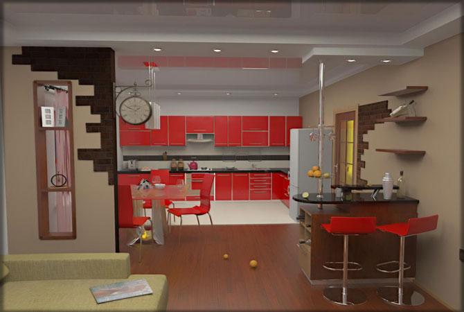 дизайн ванной комнаты интерьера