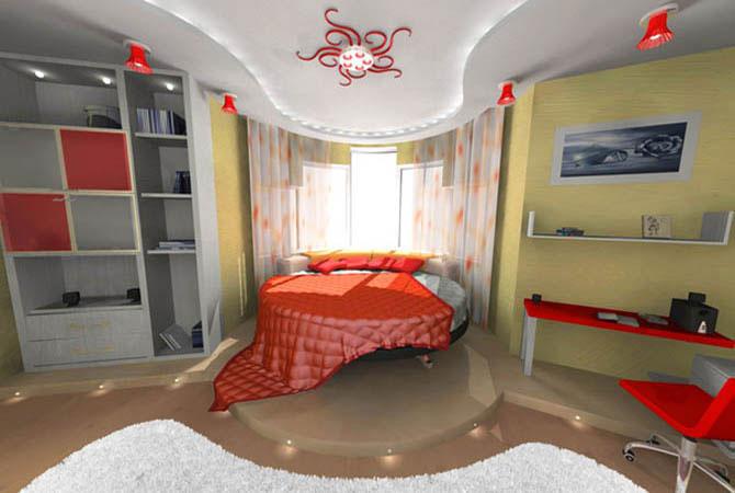 фото интерьера подоростковой комнаты