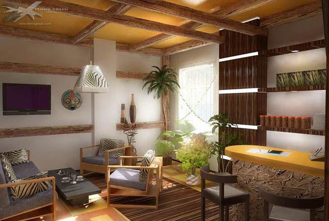 дом и интерьер кухни