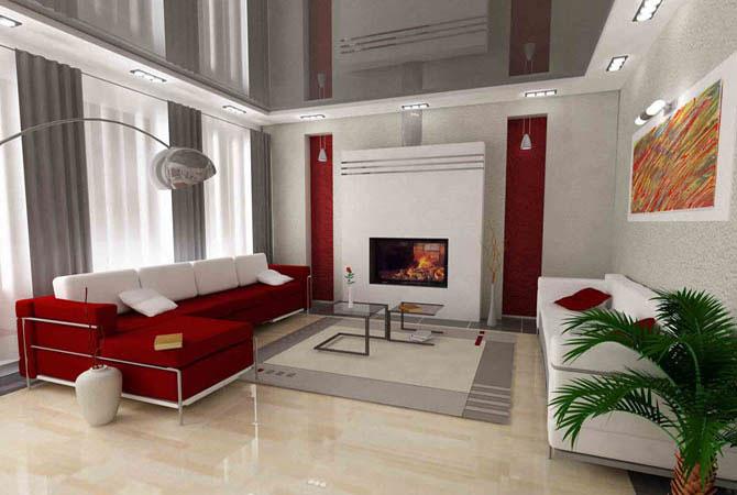 дизайн интерьеров комната арок