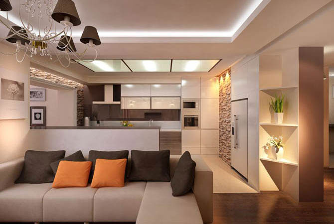 интерьер квартиры по фун-шуй