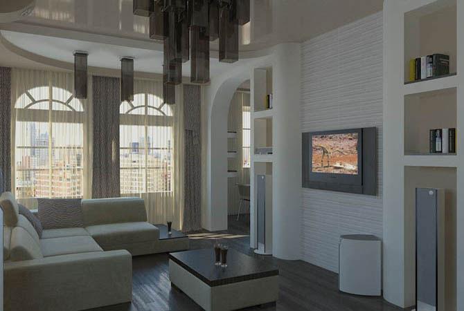 дизайн квартир мансардного типа