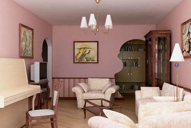 дизайн трехкомнатной квартиры малогабаритной