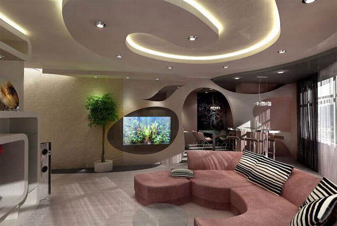 дизайн многофункциональной комнаты для девушки