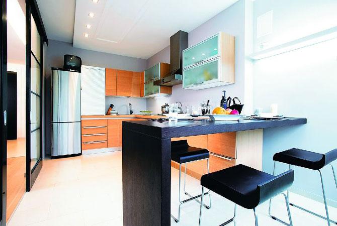 дизайн квартир в ярких цветах фото