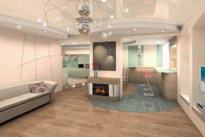 элитные дизайн проекты квартир фрески