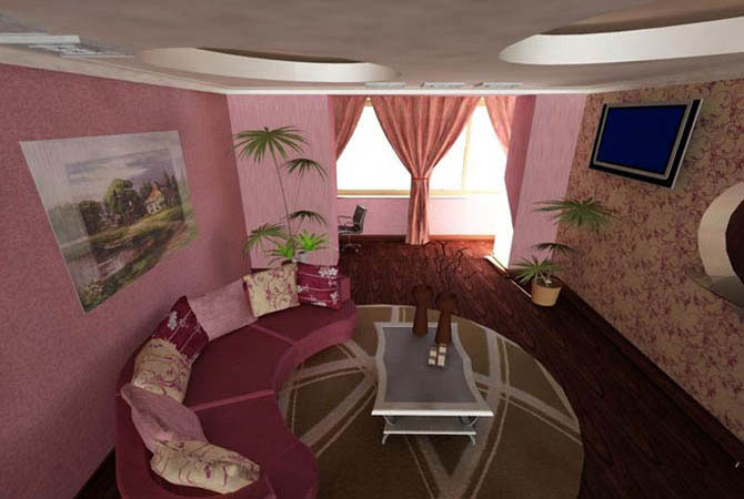дизайн и интерьер маленькой комнаты