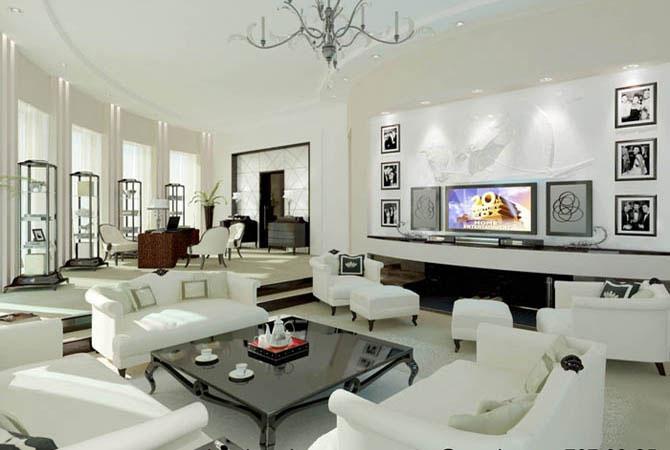 дизайн интерьера в однокомнатной квартире в алматы