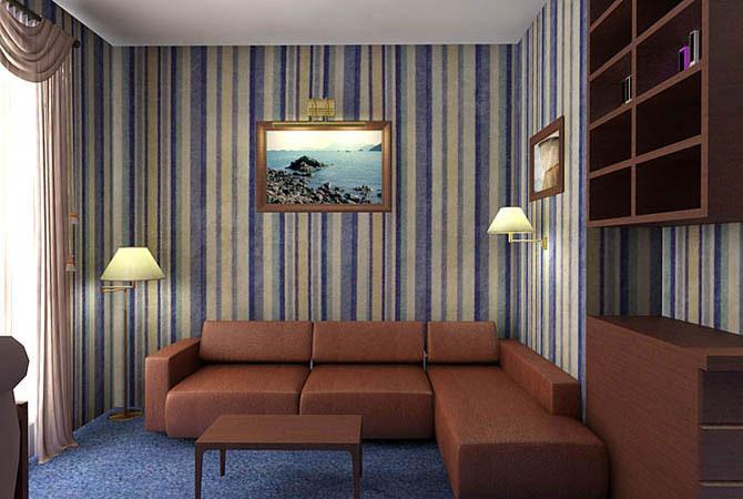 блок хаус отделка комнат
