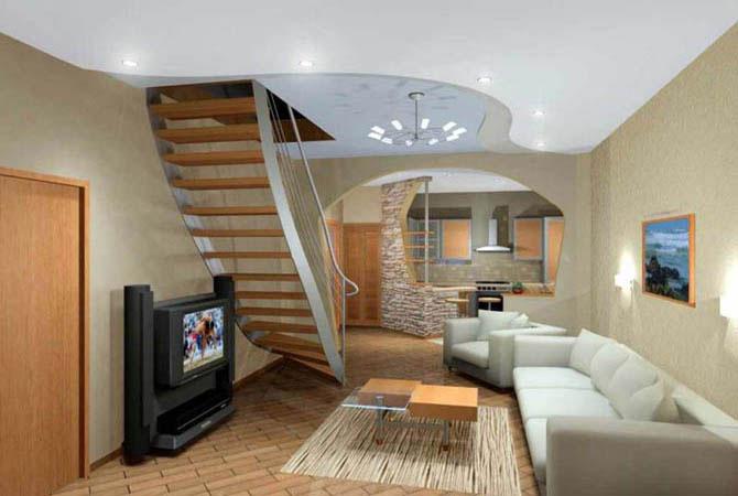 примеры дизайна в однокомнатной квартире