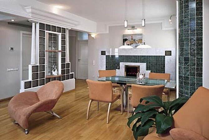 дизайн однакомнатных квартир лоджия