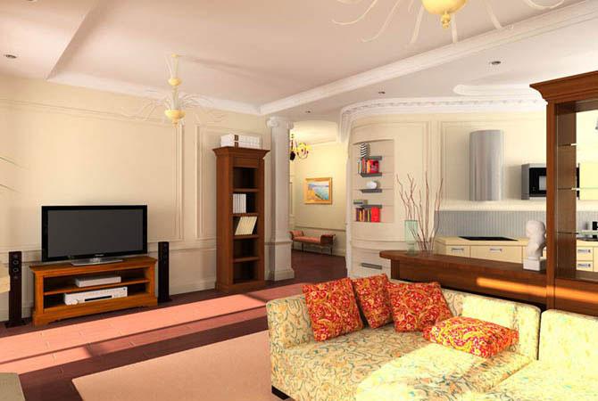 дизайн квартир г самара трех комнатные квартиры