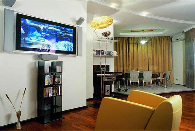 интерьер однокомнатных квартир с малой площадью