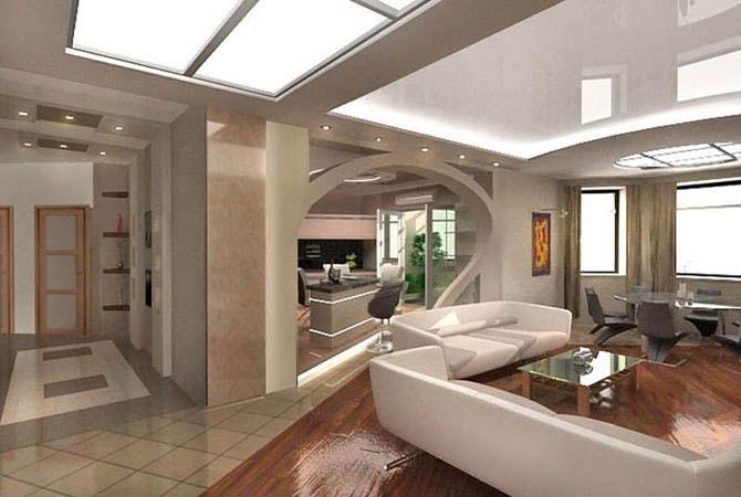 дизайн проект мебели жилой комнаты