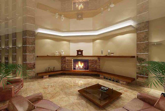 гостиная спальня комната дизайн квартир