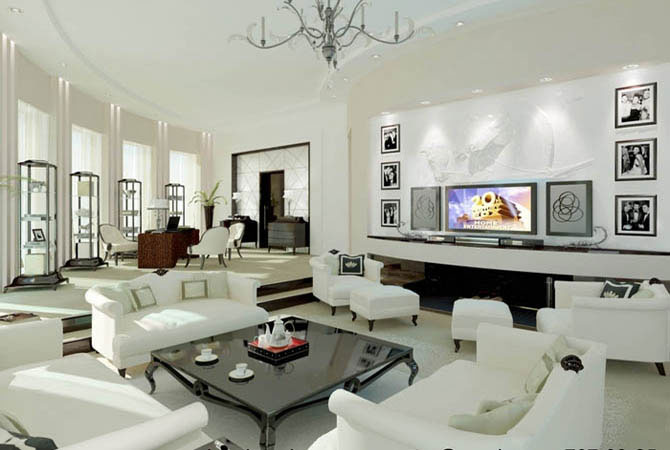 дизайн квартир современная классика