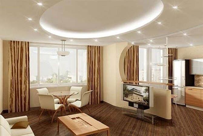 интерьеры квартир 4 или3 комнаьтные до100м