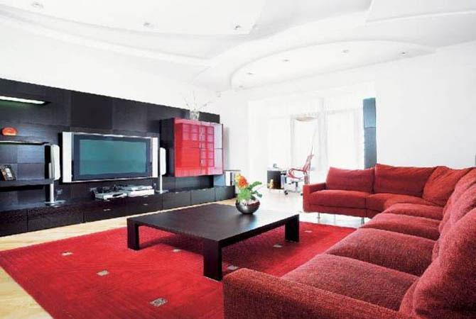 дизайн интерьера квартир фото спальни столовой