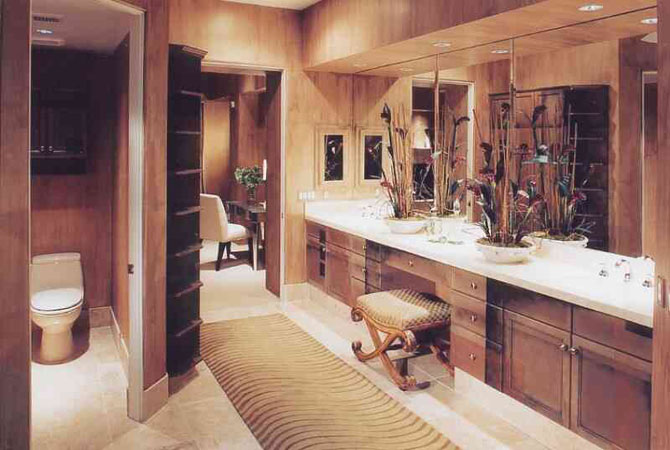 фото галлерея дизайна готовых ванных комнат