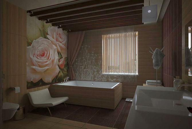 фото дизайнерских работ для ванной комнаты